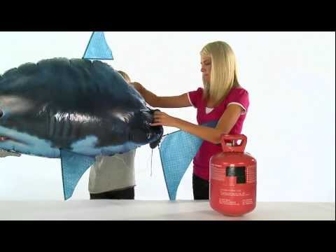 Air Swimmers EXtreme Shark Assembly Instructions - EN, IT & SL Captions