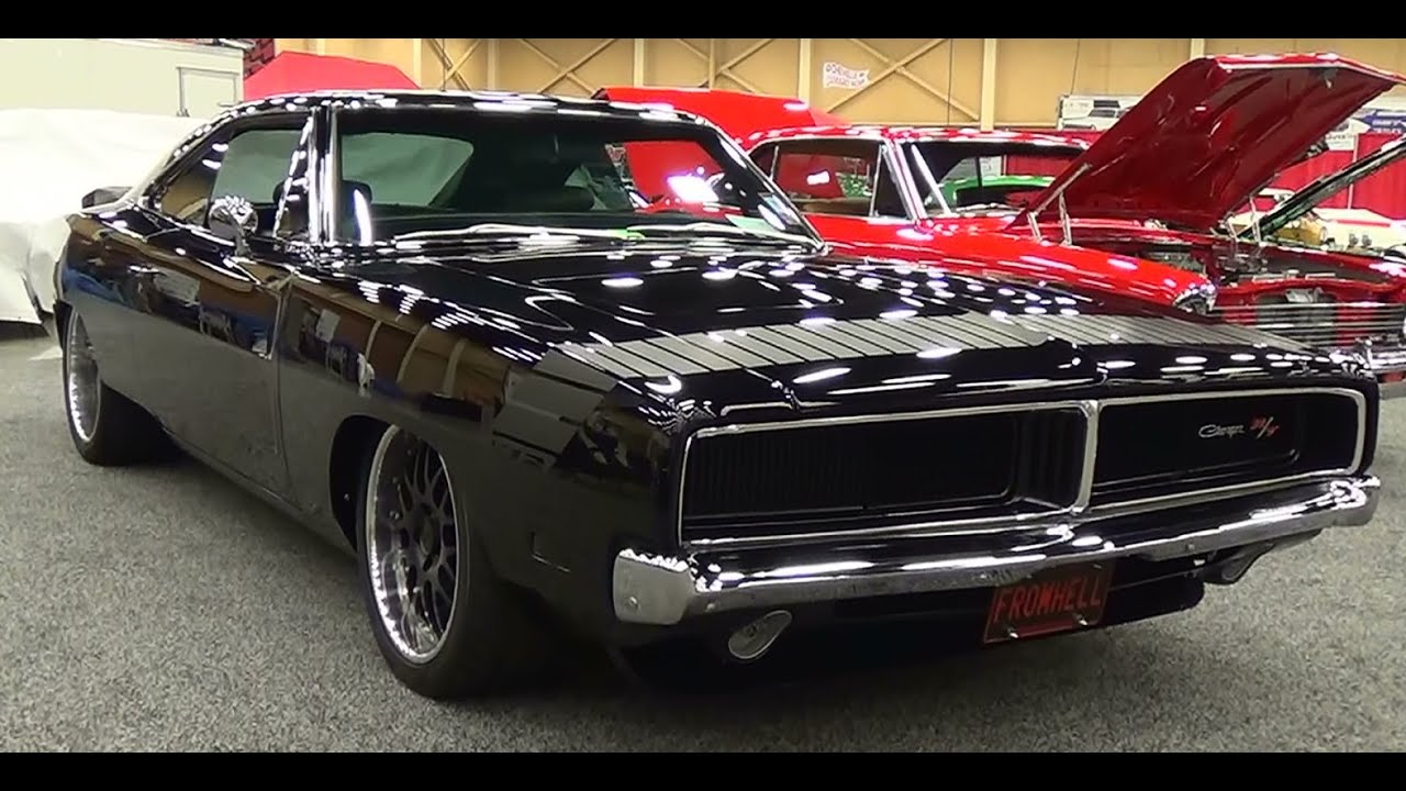 1969 Charger R T Street Machine Pigeon Forge Rod Run 2014