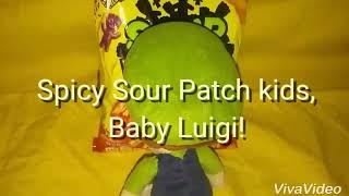 Spicy Sour Patch kids, Baby Luigi
