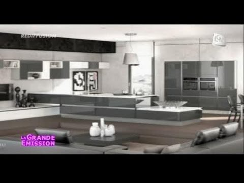 d co les tendances cuisines 2013 youtube. Black Bedroom Furniture Sets. Home Design Ideas