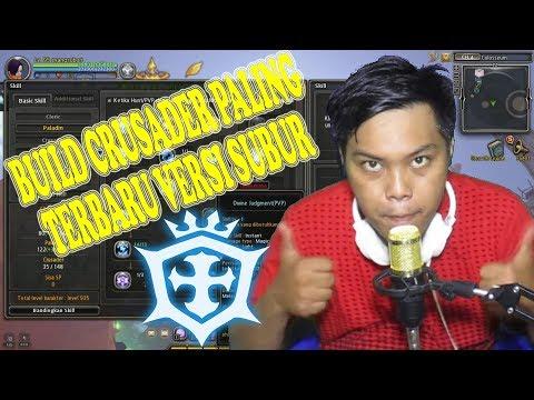 NEW RE-BUILD CRUSADER PVP SETELAH REVAMP LVL 95 - DRAGON NEST INDONESIA