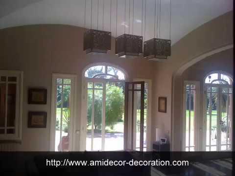 peinture d corative sur platre amidecor marrakech youtube. Black Bedroom Furniture Sets. Home Design Ideas