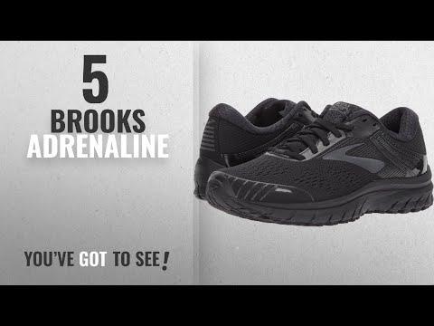 top-5-brooks-adrenaline-[2018]:-brooks-women's-adrenaline-gts-18-black/black-8.5-d-us