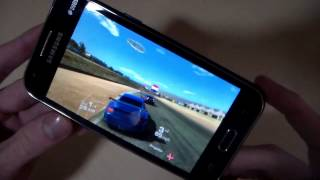 Игры на Samsung Galaxy J1 (Asphalt 8, RealRacing3, DeadTrigger2) (HD)