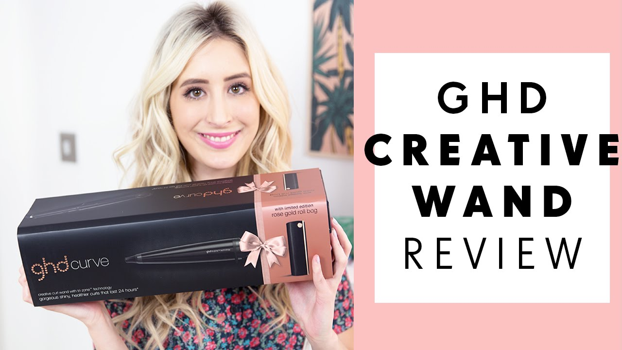 How To Beachy Waves With The Ghd Curve Creative Curl Wand