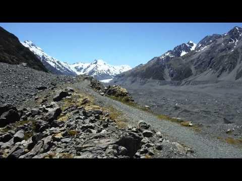20150112 Ball Shelter Hut Track, Aoraki & Mount Cook National Park, New Zealand, Part 9:Tasman Glaci