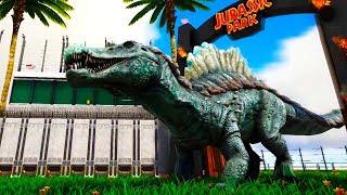 EPIC Jurassic Hybrids Battle For Dominance In Jurassic World Arena!  - Ark Survival Evolved