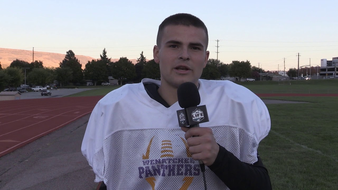 Wenatchee Offensive Tackle Nate Black on Goals and Eastmont 2019-10-10