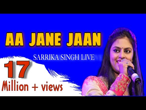 Aa Jane Jaa | Conducted By Shri Pyarelalji Sharma | sung by Sarrika Singh Live | LaxmikantPyarelal |