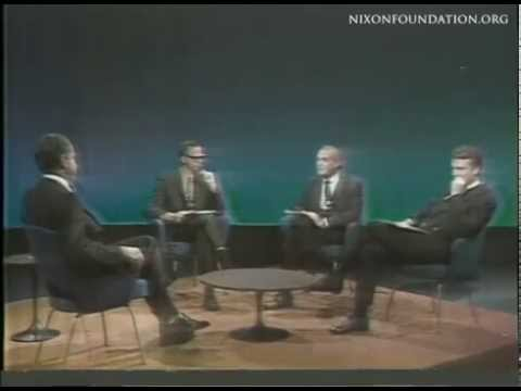 Richard Nixon on Face the Nation 1968
