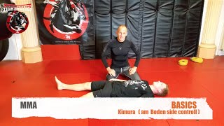 MMA BASIC KIMURA BODEN SIDE CONTROL