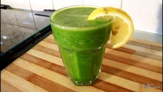 Cucumber Drink With  Ginger ,Spinach ,Lemon & Honey [Jamaican Drink
