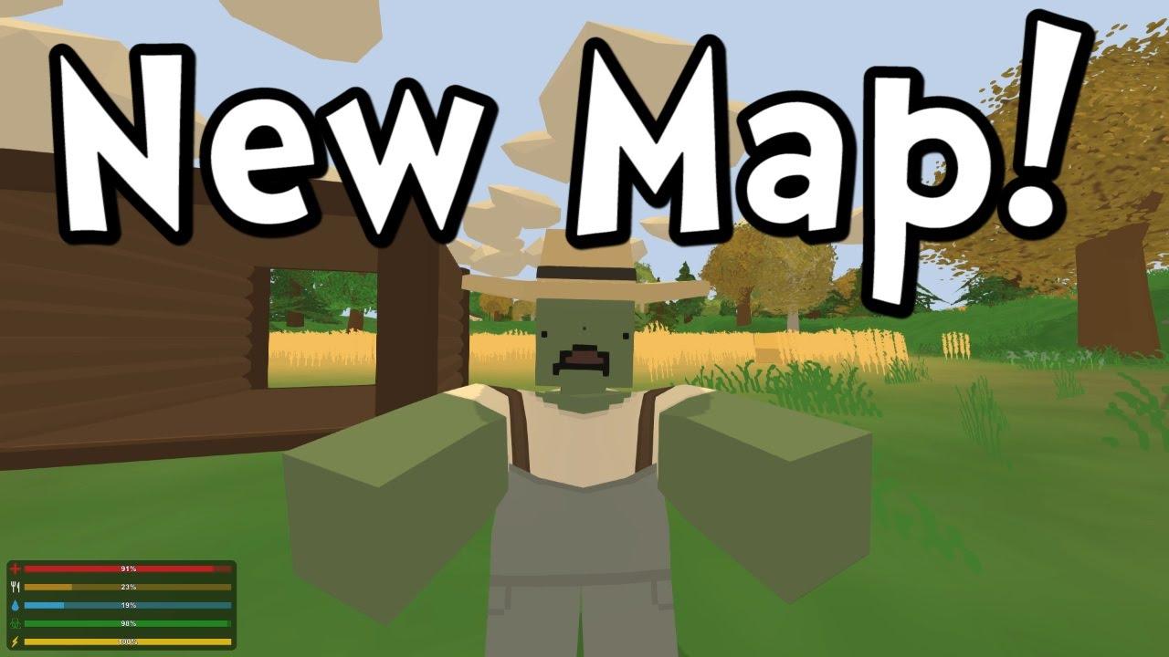 Unturned 3 0 New Pei Map Gameplay Walkthrough Youtube