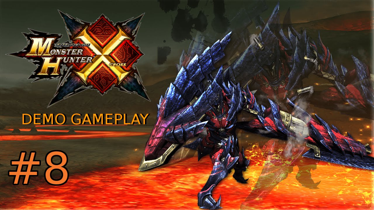 Monster Hunter X Demo Gameplay #8 [Charge Blade. Guild Style] - YouTube