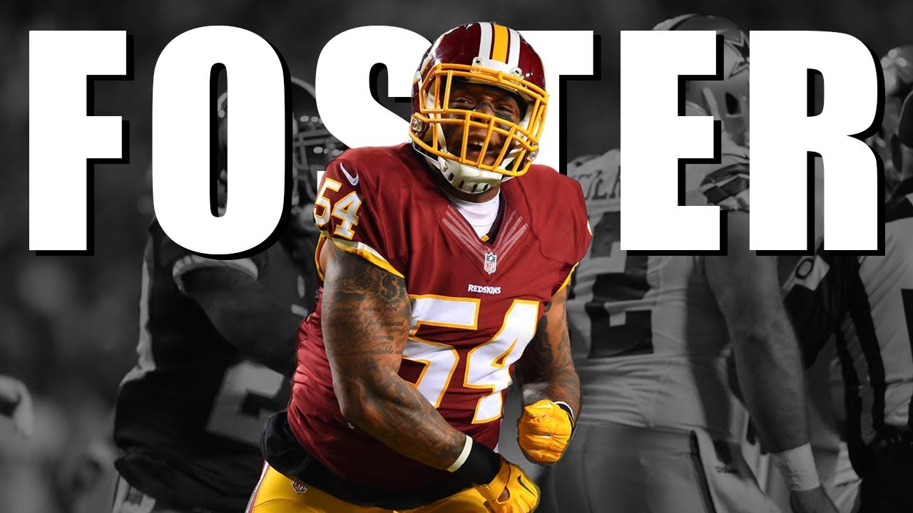 the best attitude 57c47 00b7b Mason Foster 2016-17 Highlights ᴴᴰ || Washington Redskins