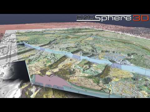Green River Utah Structural Geology 3D Visualization