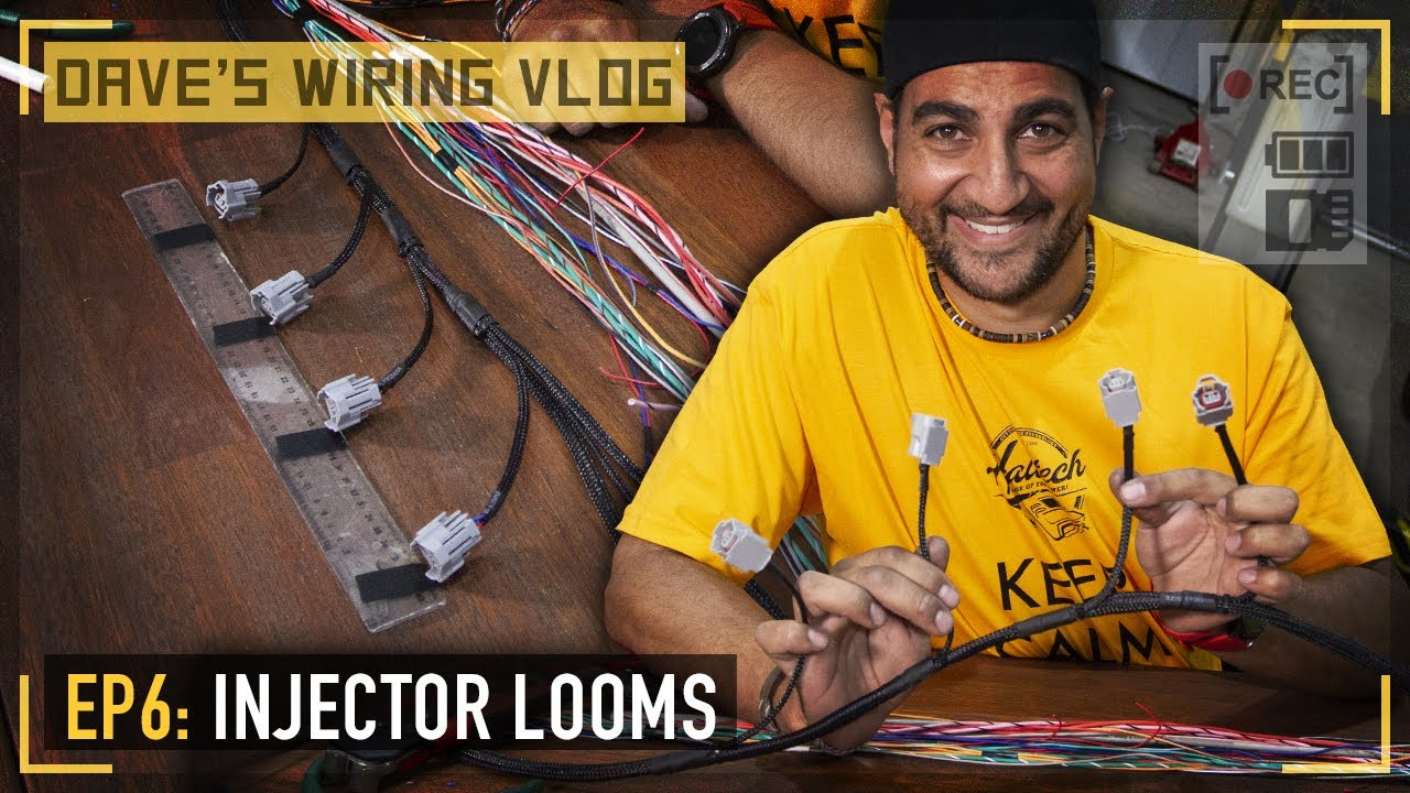 Download 🎥 Ep6: Grouping and terminating ignition and injector looms   DAVE'S WIRING VLOG