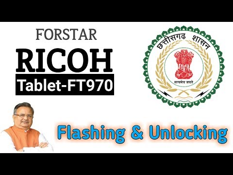 ChipTech Solution: RICOH FT970 FORSTAR flashing 100% Done