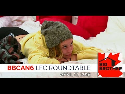 Big Brother Canada 6  April 17, 2018  LFC Roundtable Podcast
