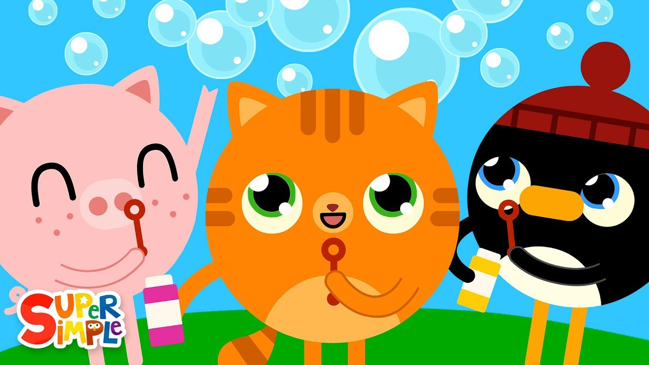 Pop The Bubbles   Kids Songs   Super Simple Songs
