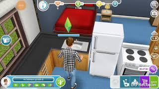 Прохождение игры Sims free play  2  серия кулинария