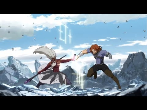 Fairy Tail Gildarts V.S August Full Fight || Gildarts Clive V.S August Dragneel Complete Fight .