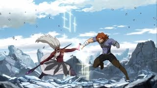 Fairy Tail Gildarts V S August Full Fight Gildarts Clive V S August Dragneel Complete Fight