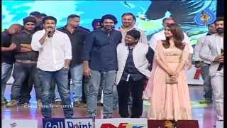 Funny Speech between Prabhas and Gopichand at Jil Audio Launch