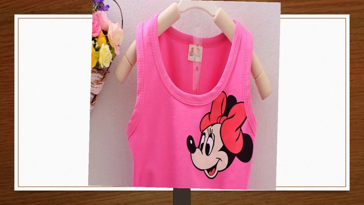 Iolsfala Baby Summer Girls Clothes Infant Kid Suits Bright