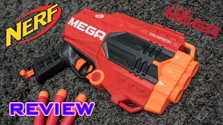 [REVIEW] Nerf Mega Tri-Break | Unboxing, Review, & Firing Test
