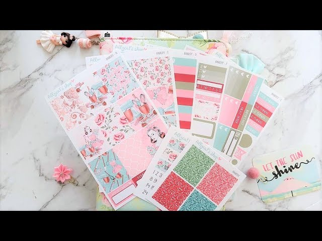Plan With Me | Bakery – Allycats Shop (EC Style in A5 Planner)
