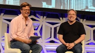 Linus Torvalds: Security is never perfect [LinuxCon Seattle 2015]