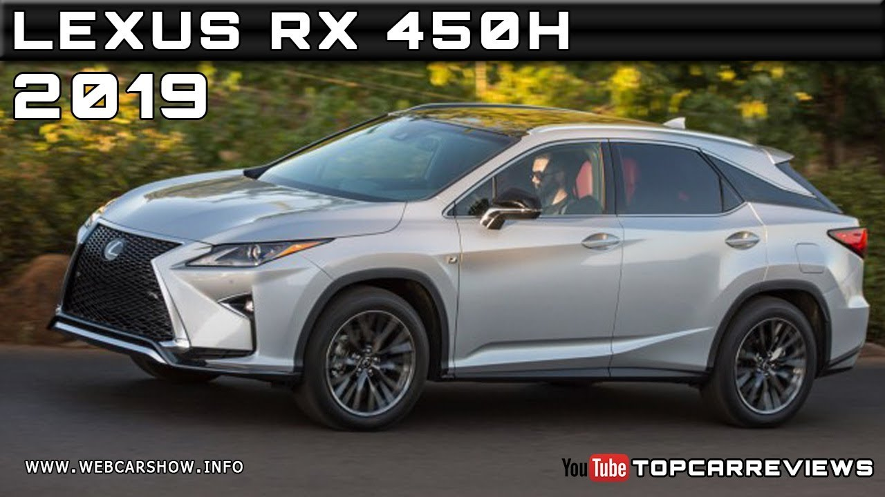 2019 LEXUS RX 450H Review Rendered Price Specs Release ...