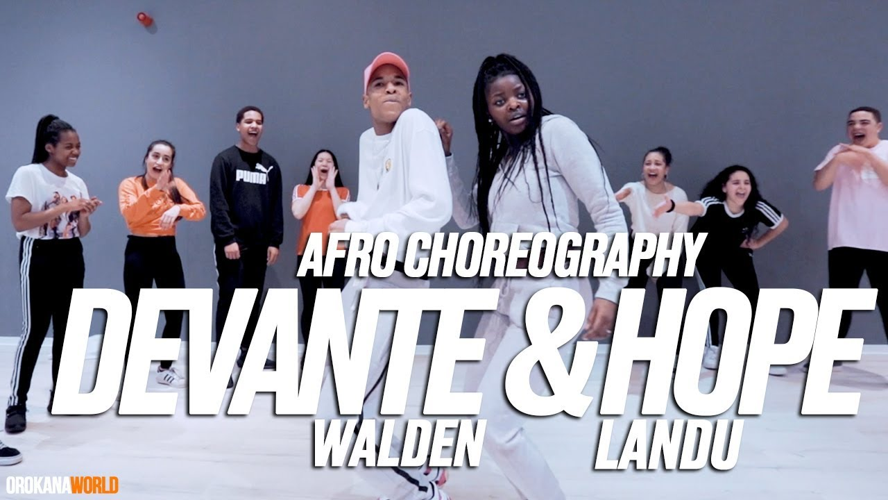 Devanté Walden & Hope Landu |  Afro Choreography | ONerú Americano - O Team   Sim | #orokanawor