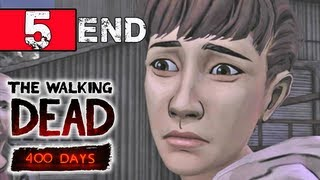 Walking Dead 400 Days Walkthrough Part 5 - Shel /Epilogue - Ending - Let