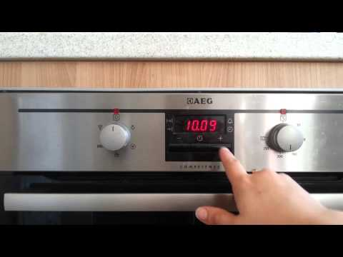 Topmoderne How to set your AEG oven to come on automatically - YouTube KD-48