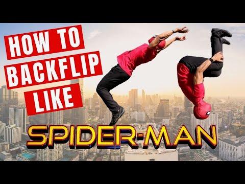 How To Backflip like Spider-Man (FULL TUTORIAL) thumbnail