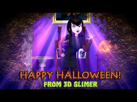 Hot Girl Mavis Slimed! Halloween Short!