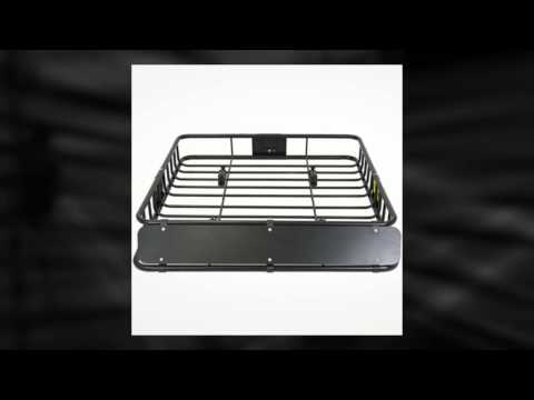 Universal Roof Rack SUV Cargo and Luggage Carrier