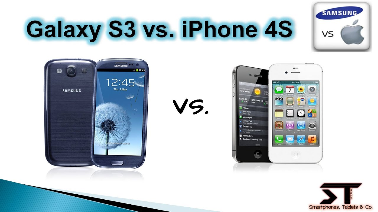Samsung Galaxy S3 vs. Apple iPhone 4S | SwagTab - YouTube