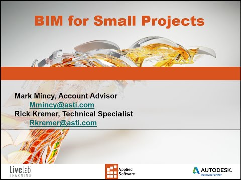 BIM for Small Projects
