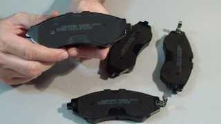 видео Тормозные колодки: выбор, замена, производители