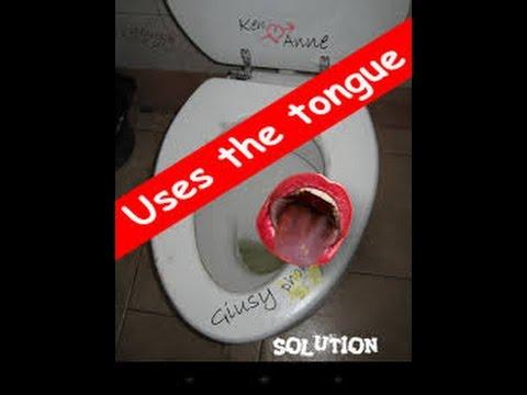 clean Lick toilet me