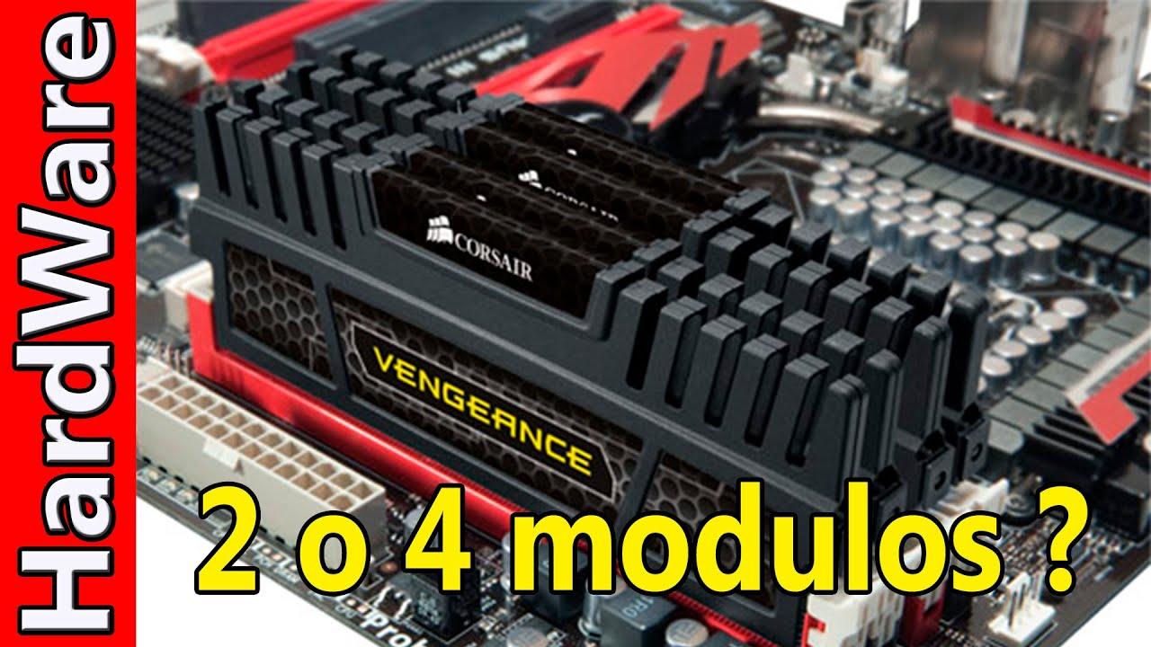 Que Es Mejor 2 O 4 Módulos De Memoria Ram