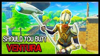 Fortnite: *NEW* VENTURA SKIN GAMEPLAY! | AIRFOIL/TRIUMPH GAMEPLAY! | Should You Buy?