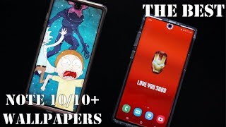 Gambar cover Download The BEST & COOLEST Galaxy Note 10/10+ Wallpapers