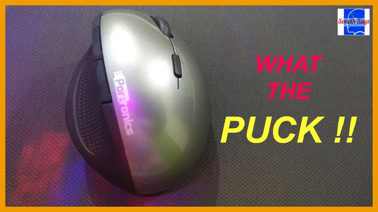 817f8e0433d Portronics Ergonomic Mouse: What the PUCK !! - YouTube