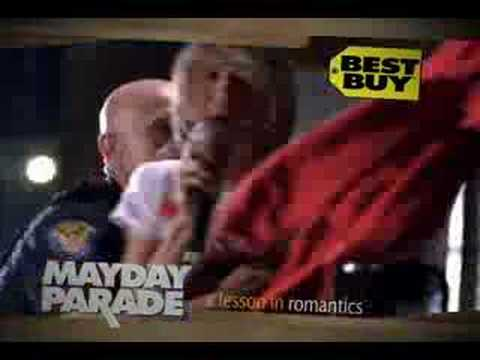 Mayday Parade Commercial