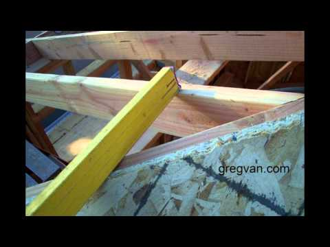 Roof Fill And Sheathing Problems - Carpentry House Framing Tips