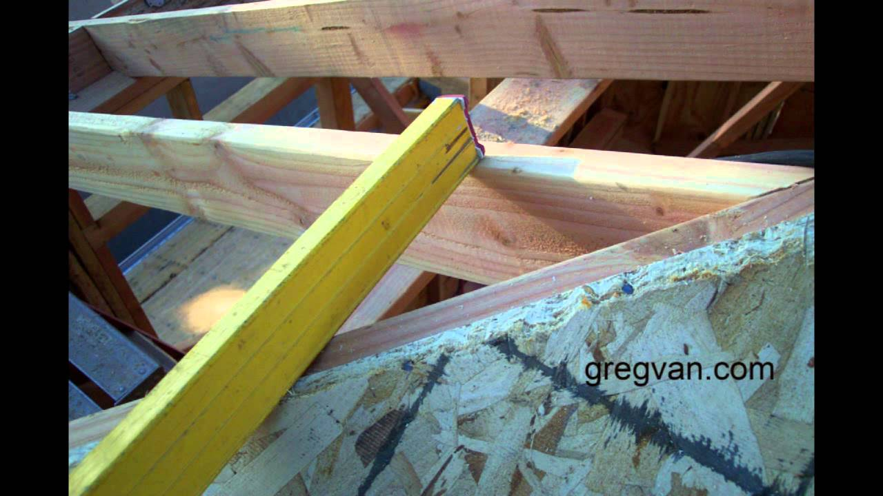 Roof Fill And Sheathing Problems - Carpentry House Framing Tips ...